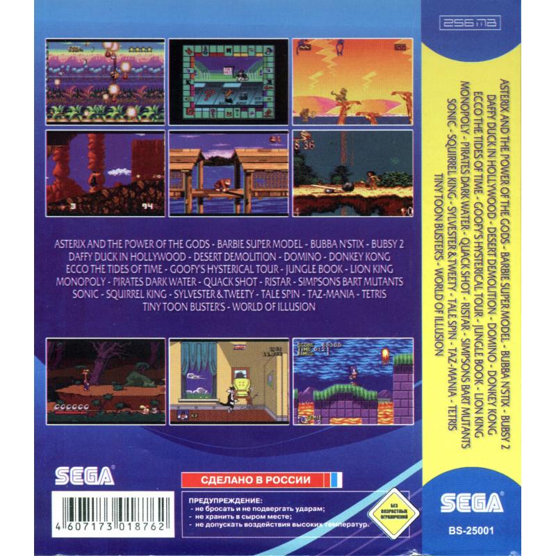"""Sega MegaDrive """"Spiderman"""" (70 игр)"""
