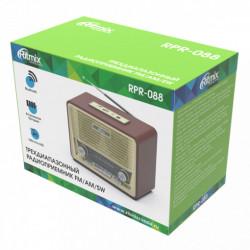 Мышь Ritmix RMW-560 беспроводная, USB, чёрно-серая
