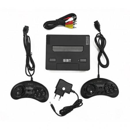 Игровая приставка 8-бит Junior 2 Classic HDMI mini + картридж