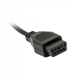 Кабель USB - Type C  NYLON 3A чёрный  MOBILAK 1 m